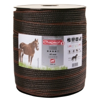 ЛЕНТА ДЛЯ ЭЛЕКТРОПАСТУХА CHAPRON RUBAN SUPERIEUR MARRON 40 MM