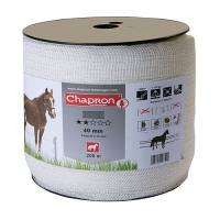 ЛЕНТА ДЛЯ ЭЛЕКТРОПАСТУХА CHAPRON RUBAN 40 MM ECO